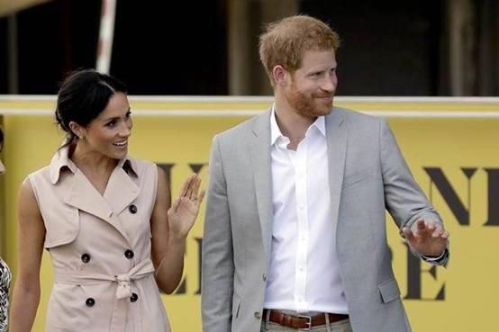 被批出席活动服装奢华 英国新王妃梅根改走低调平价风