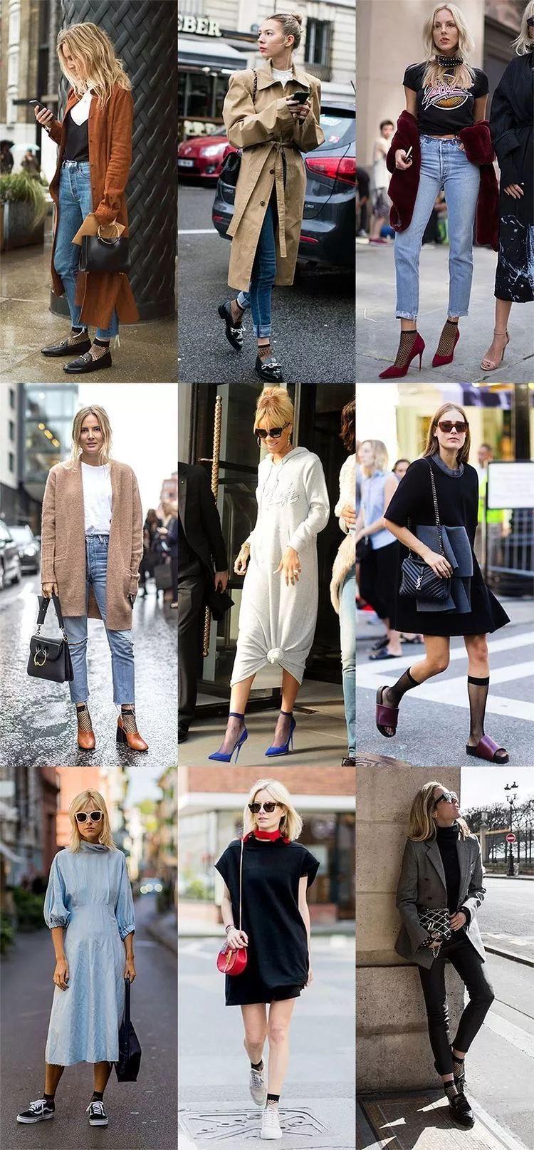 当我们穿着相同鞋子的时候,只有袜子能代表你的个性了