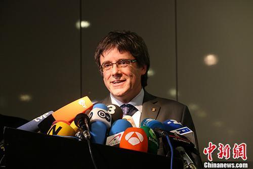 加区前主席引渡令被撤销 是否返回西班牙仍无定论