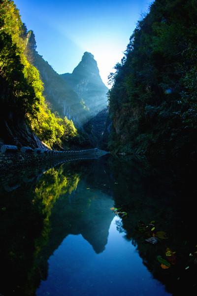 竹山百里河旅游区:天然氧吧,避暑胜地