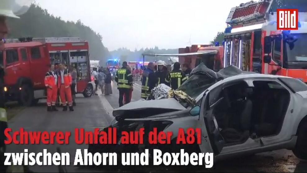 德国突发10车相撞特大交通定制衣柜加盟代理事故 已致4人死亡、多人重伤