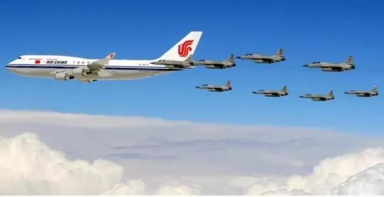 展现敬意!盘点曾为习主席护航过的各国战斗机