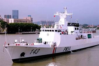 中国为巴基斯坦制造巡逻船交付 将保护瓜达尔港