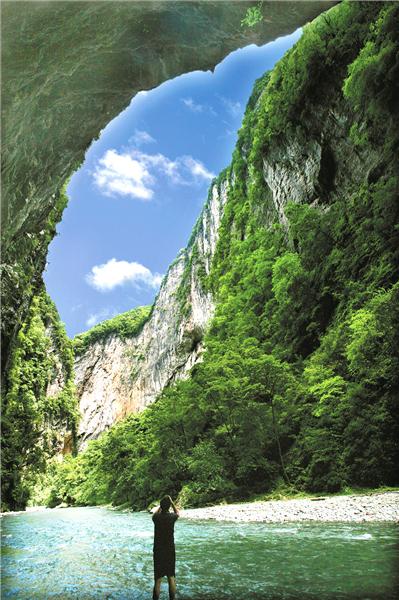 武陵峡:山中桃源