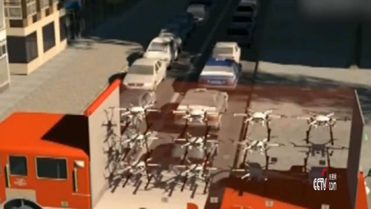 中国无人机玩出新高度!编队发射导弹从窗户射入远程灭火