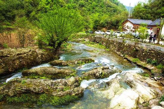 水利部专家组考评太和梅花谷国家水利风景区创建