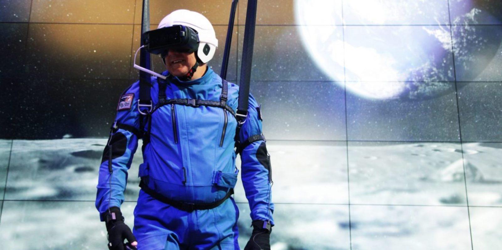 三星携手NASA共同开发VR游戏 逼真体验月球行走