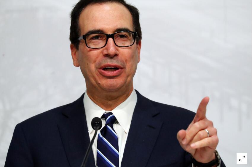 美国财长:盟友正认真考虑美国降低贸易壁垒的建议