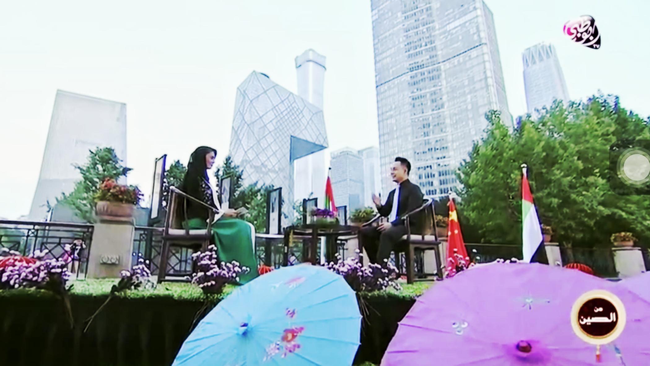 伟大技术!阿联酋官方电视台专访汉能