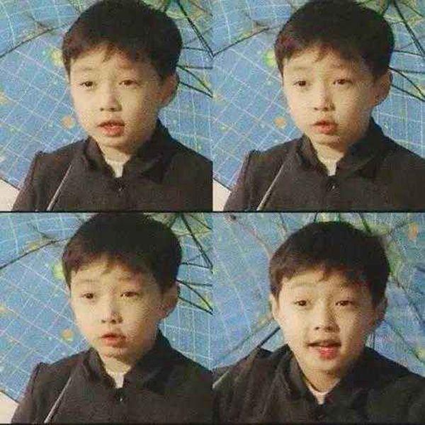 当红明星的童年照对比,都快被张艺兴,鹿晗,王源虐哭了!