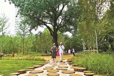 东城森林公园 昨日正式开放