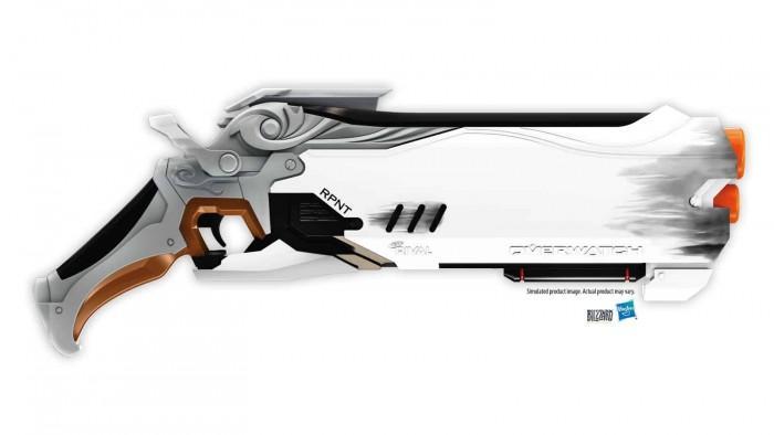 暴雪和孩之宝合作 推出守望先锋主题玩具枪
