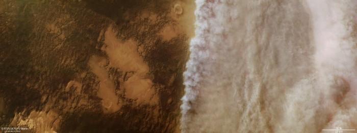 大规模沙尘暴继续肆虐火星 NASA仍与机遇号失联