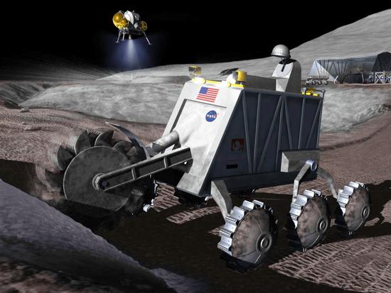 NASA相关人士:月球水冰开采10年内有望成真
