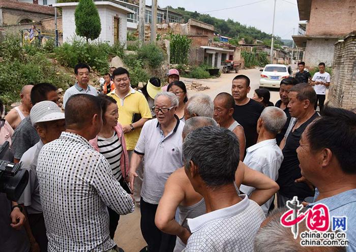 中共延安五老研究中心到吕梁临县考察调研