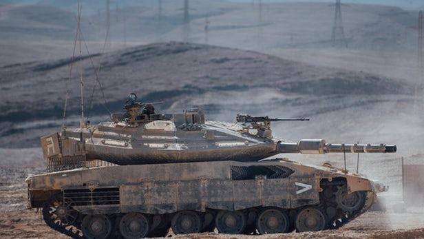 以色列推出搭载AI系统的Merkava Mk 4 Barak坦克