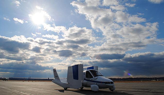 Terrafugia量产飞行汽车将于2019年上市
