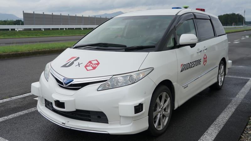 普利司通轮胎利用无人驾驶汽车测试轮胎噪声