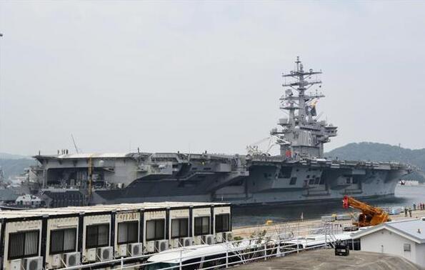 """美海军""""里根""""号航母完成为期2月巡航任务 已返回横须贺基地"""