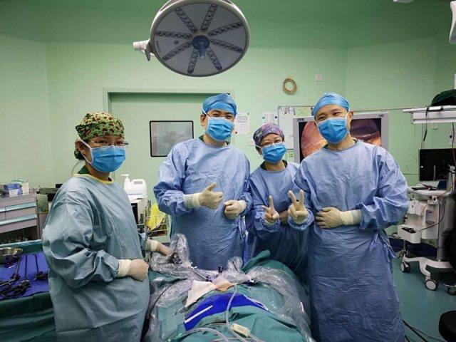妇科手术可以无痕?七旬阿婆不留痕迹切掉四处肿瘤