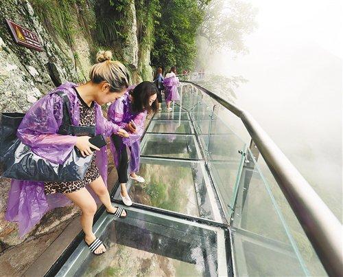 景区玻璃桥安全不容小视