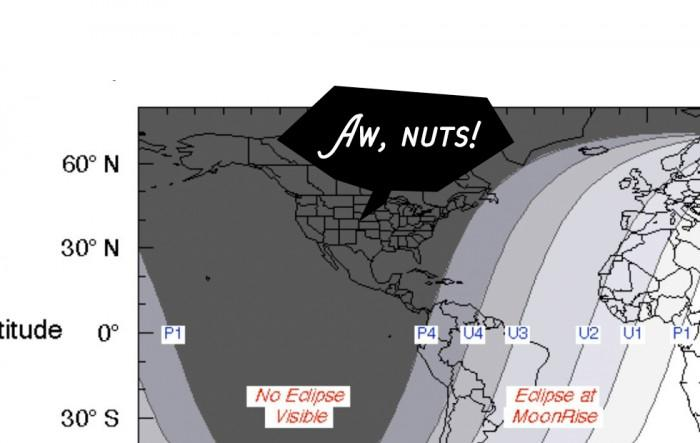 NASA地图展示本世纪持续时间最长月食最佳观测地