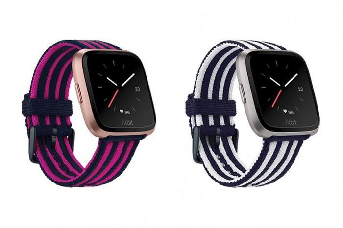 Fitbit为旗下Versa智能手表推出新款时尚表带