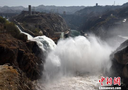 刘家峡水库压减出库流量 确保黄河中下游安全度汛