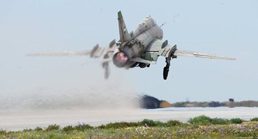 以军击落一架叙空军战机 飞行员被曝一死一伤