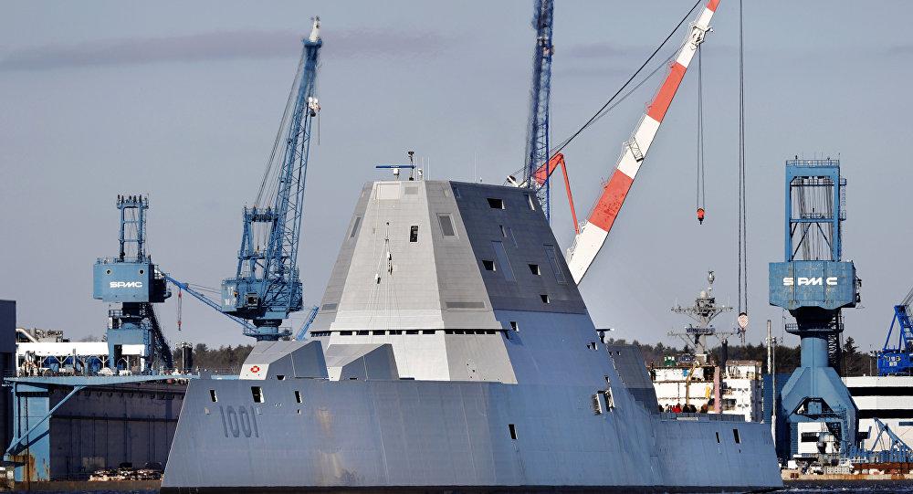 又出事了!美军最新型驱逐舰测试时发动机损坏