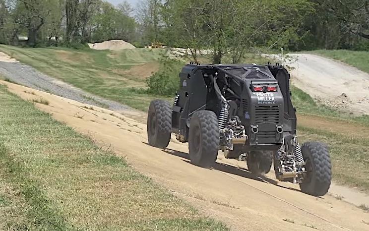 美军有望部署搭载轮毂电机的纯电动特勤车辆