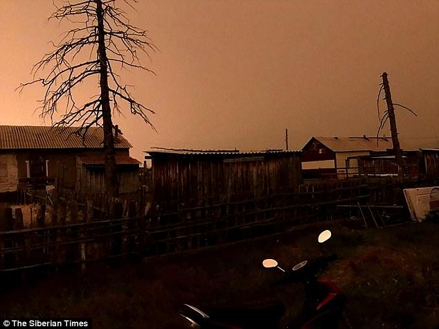 俄偏远城镇夏日正午天空突然变黑 至今原因不明