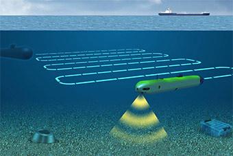 图片展示无人潜航器发展前景 可欺骗反潜设备