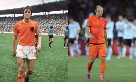 """攻守兼备跑动灵活 尊重规则尊敬他人  荷兰足球,""""无冕之王""""也美丽"""