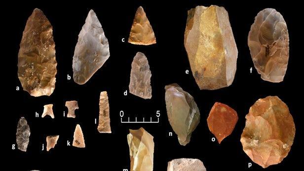 石器工具表明大约2万年前就有古人类在北美定居