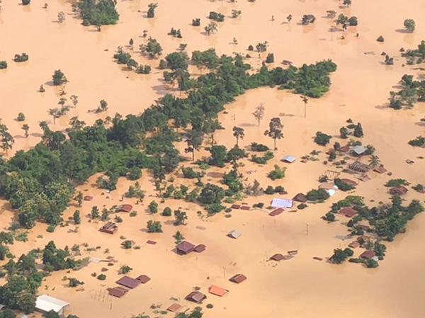 老挝溃坝丨联合国驻当地机构:溃坝事故殃及超过万人