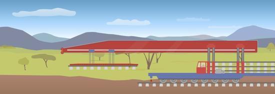 BBC:利用这些大型机械 中国人正快速建铁路公路