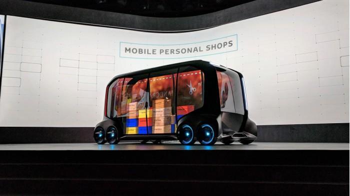 丰田宣布在2020年奥运会投入使用两款概念汽车