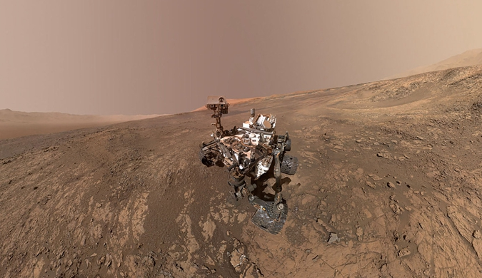火星上发现第一个液态水湖 外星人可能真的存在