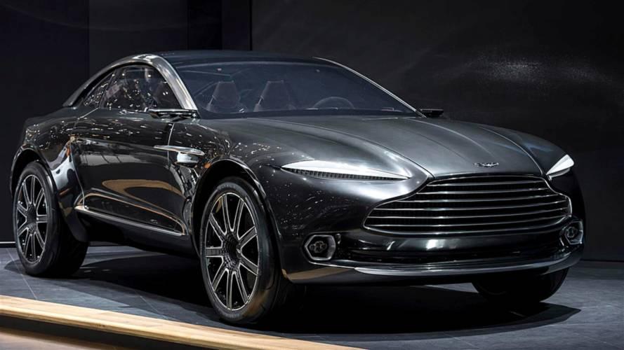 阿斯顿·马丁宣布首款SUV于2019年下半年投产