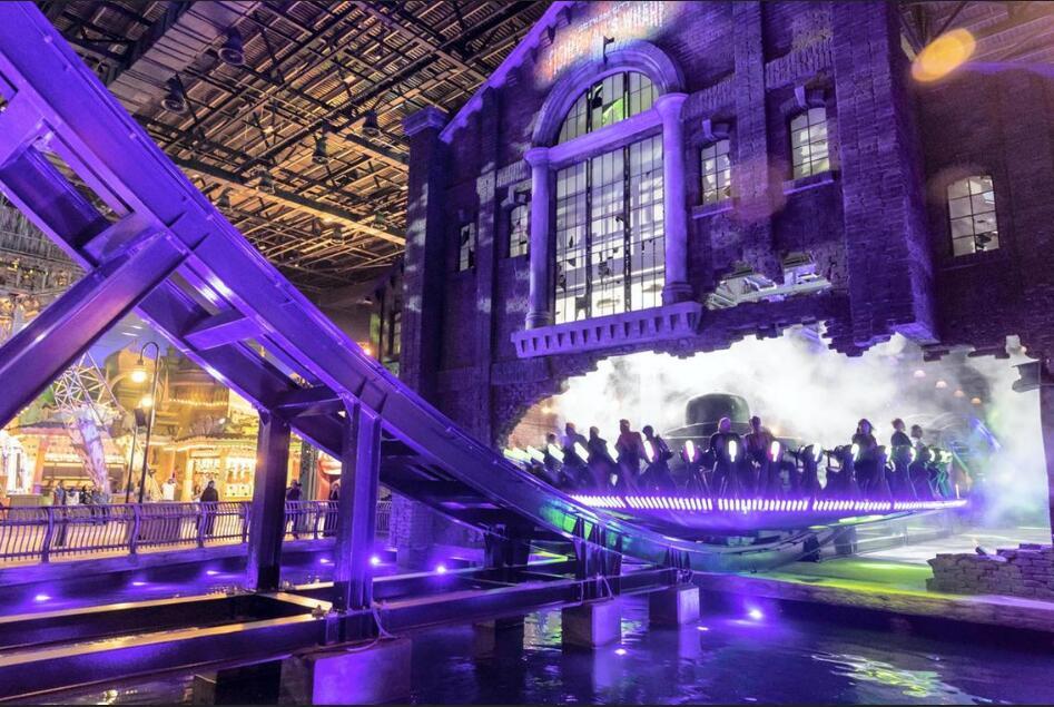 阿布扎比:华纳兄弟10亿美元室内乐园开幕