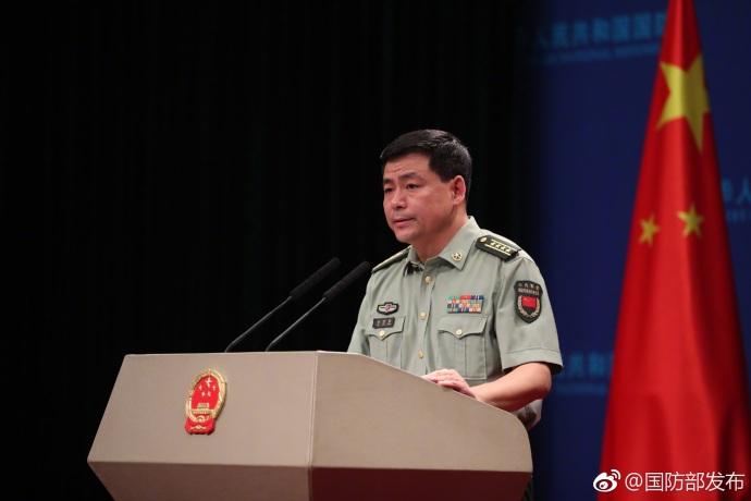 国防部回应海军舰艇航行台湾海峡:是正常安排
