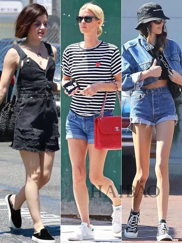 短裤想要穿好看的速来围观!牛仔短裤、短裤套装的最强示范来了!