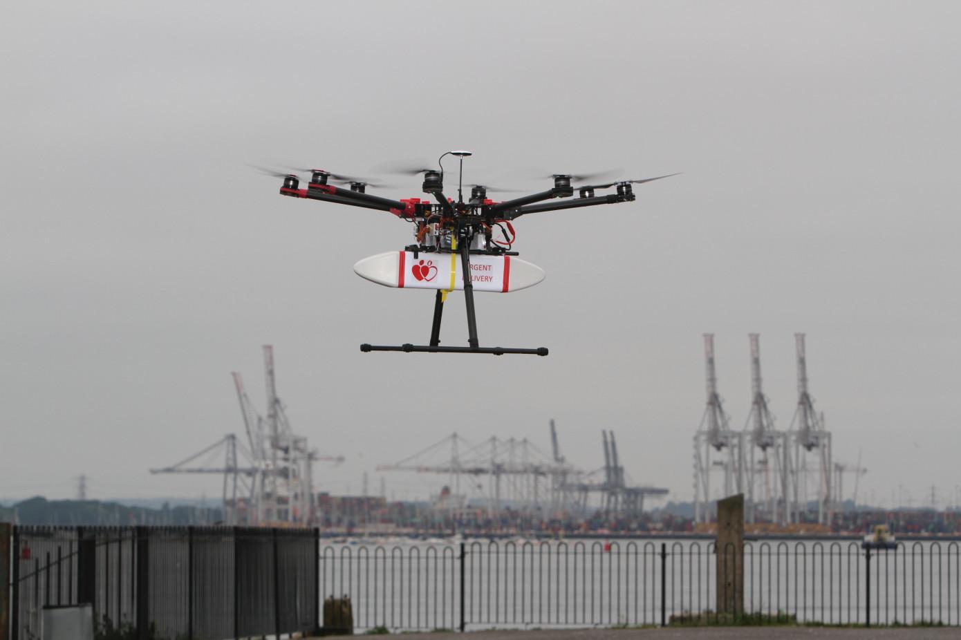 英国:无人机如何造福城市?这五个方面值得关注