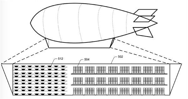 亚马逊空中仓库获专利授权 可供无人机中转