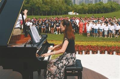 晨唱·郎朗钢琴广场