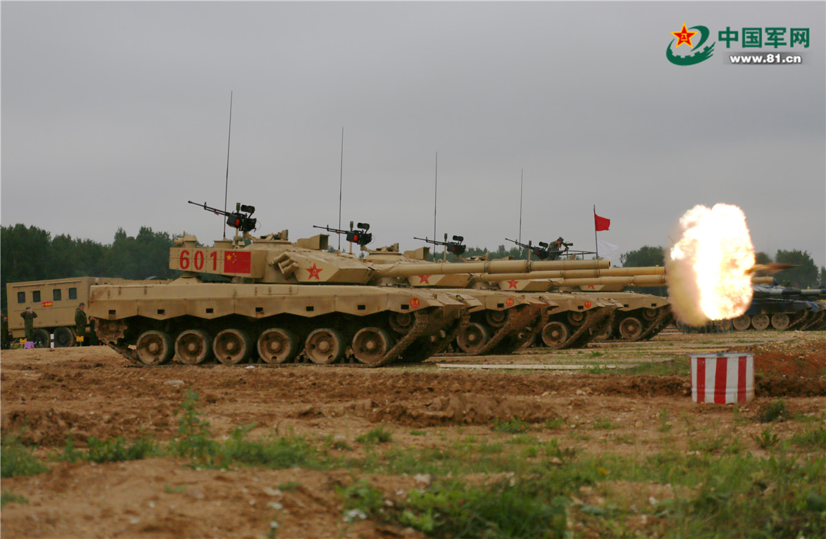 """大赛在即!中国""""坦克两项""""代表队全力备战揭幕战"""
