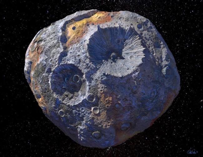 中国科学家欲捕获一颗小行星 力争将其带回地球