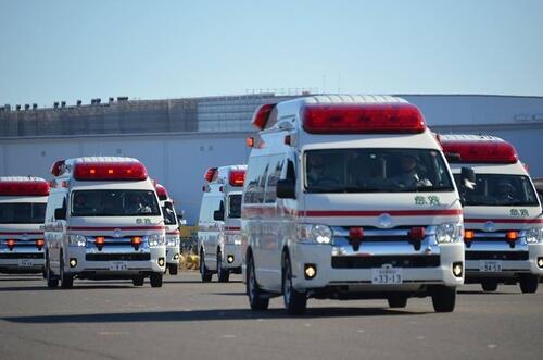 太忙了!日本名古屋消防局请求市民理解消防员停车买水