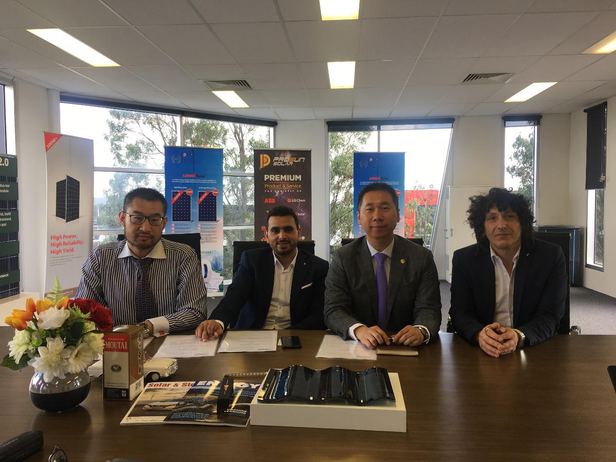 汉瓦攻陷澳洲!汉能与Integra能源签署预售协议